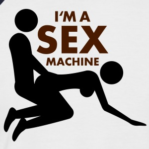 sex_machine T-Shirts - Men's Baseball T-Shirt