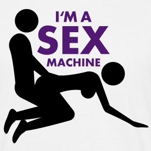 sex_machine T-Shirts - Men's T-Shirt