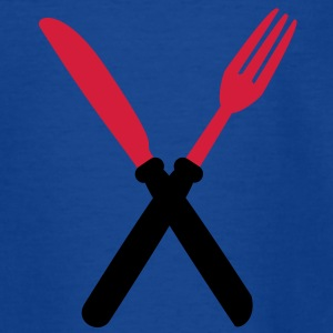 fork_and_kinfe Kinder T-Shirts - Teenager T-Shirt