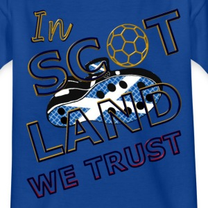 in scotland we trust Kids' Shirts - Teenage T-shirt