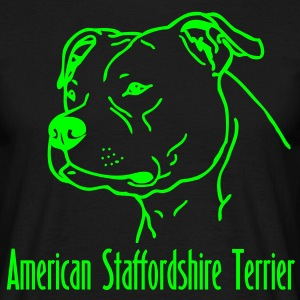american_stafford_1_2 T-Shirts - Men's T-Shirt
