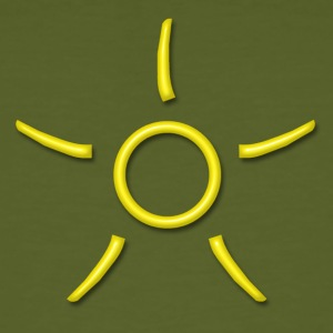 SOOL - Power of the absolute extension, yellow, digital, Antares Symbol System, PLEASE ACTIVATE YOUR SYMBOL! T-shirt - T-shirt ecologica da uomo
