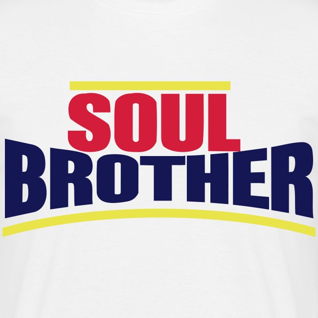 Soul Brother Unlimited - Tee-shirt Classique Homme
