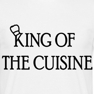 king of the cuisine  - T-shirt Homme