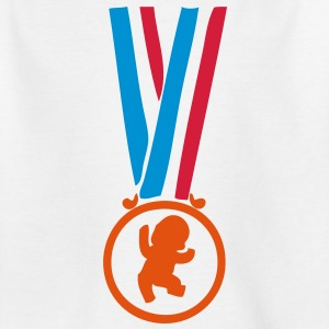 champion medaille super bebe2 Tee shirts Enfants - T-shirt Ado