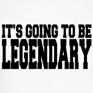 it's going to be legendary II Long sleeve shirts - Men's Long Sleeve Baseball T-Shirt