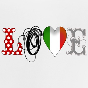 Love Italia Black - Baby T-Shirt