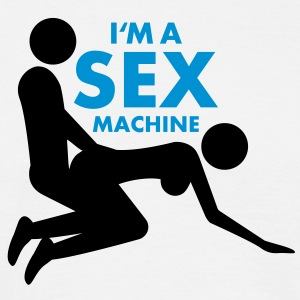 sex_machine T-Shirts - Männer T-Shirt