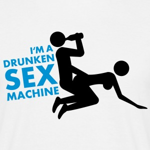 drunken_sex_machine T-shirts - T-shirt herr