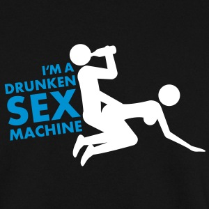 drunken_sex_machine Hoodies & Sweatshirts - Men's Sweatshirt