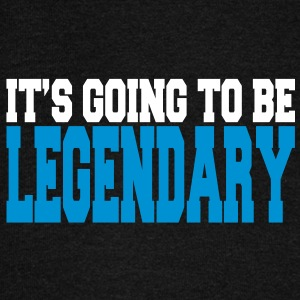 it's going to be legendary II 2c Felpe - Felpa con scollo a barca da donna, marca Bella