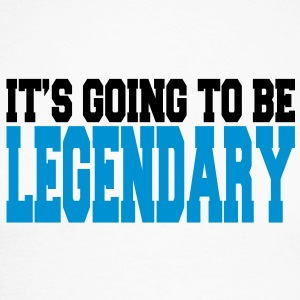 it's going to be legendary II 2c Long sleeve shirts - Men's Long Sleeve Baseball T-Shirt