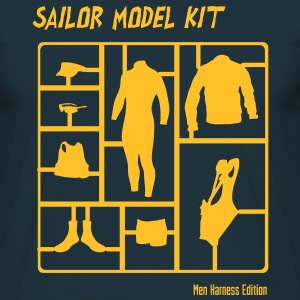 Sailor Model Kit - Mens Harness Edition T-Shirts - Männer T-Shirt