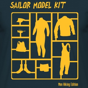Sailor Model Kit - Mens HIking Edition T-Shirts - Männer T-Shirt