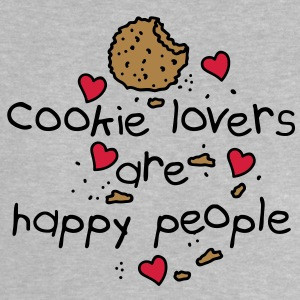 cookies lovers are happy people Babytröjor - Baby-T-shirt