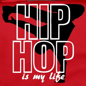 hip hop is my life bolsas - Bolso de bandolera
