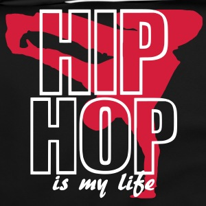 hip hop is my life Tassen - Schoudertas