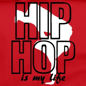 hip hop is my life Borse - Tracolla
