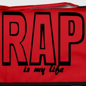 rap is my life Torby - Torba na ramię