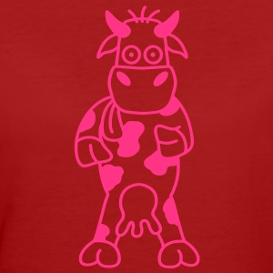 cow T-shirts - Organic damer