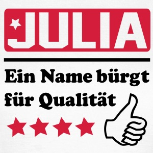 julia T-Shirts - Frauen T-Shirt