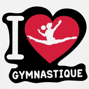 grs love coeur heart gymnastique21 Tee shirts - T-shirt Homme