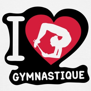 grs love coeur heart gymnastique20 Tee shirts - T-shirt Homme