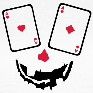 carte poker as paire smiley1 Tee shirts - T-shirt Femme