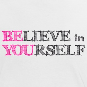 BElieve in YOUrself - BE YOU Tee shirts - T-shirt contraste Femme