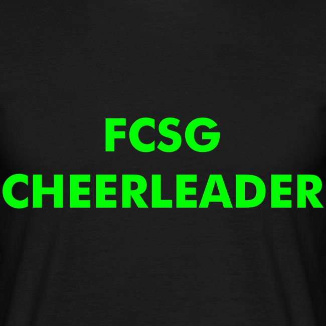 Shirt FCSG Cheerleader