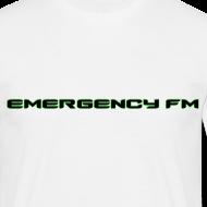 Design ~ EmergencyFM Text Logo T-Shirt