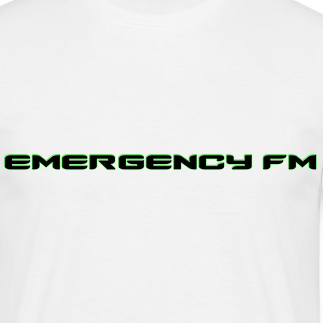EmergencyFM Text Logo T-Shirt