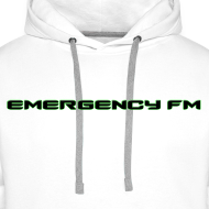 Design ~ EmergencyFM Text Logo Hoodie