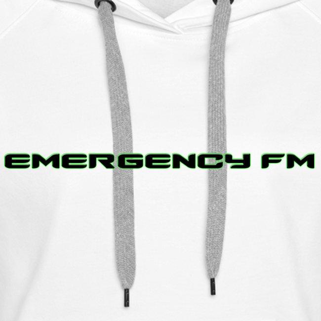 EmergencyFM Text Logo Hoodie
