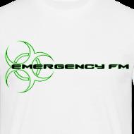 Design ~ EmergencyFM Website Logo T-Shirt