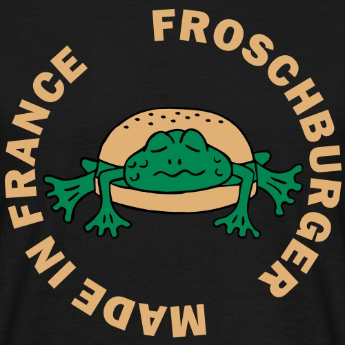 Froschburger French Burger Fastfood Frog ohne Käse without cheese Frankreich France
