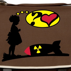 Are you lovely? Bomb Girl love comic / Atomic Bomb Bags  - Shoulder Bag