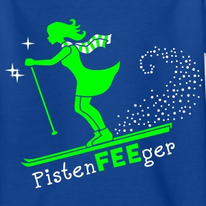 Pisten-FEE-ger Kinder T-Shirts - Teenager T-Shirt