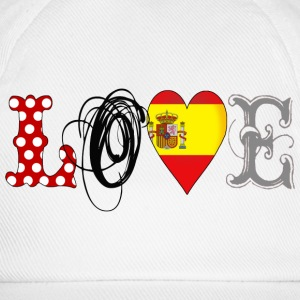 Love Spain Black - Baseballkappe