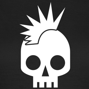 PUNK BABY skull with mohawk T-Shirts - Women's T-Shirt