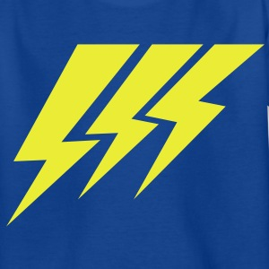 THREE LIGHTNING STRIKES Kids' Shirts - Teenage T-shirt
