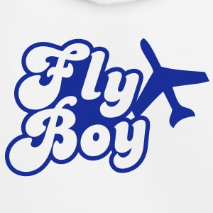 fly boy with a jet Kids' Tops - Kids' Premium Hoodie