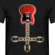 Design ~ Crossed Guitars T-Shirt