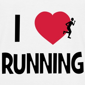 I Love Running T-Shirts - Men's T-Shirt