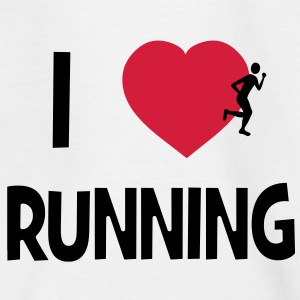 I Love Running Shirts - Teenage T-shirt
