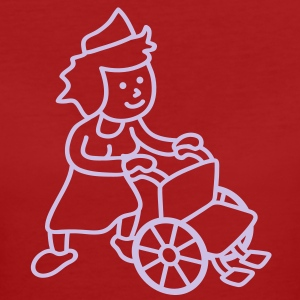 nurse_with_wheelchair T-Shirts - Women's Organic T-shirt