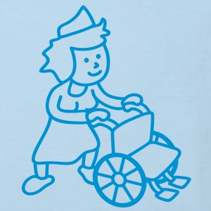 nurse_with_wheelchair Kids' Shirts - Kids' Organic T-shirt