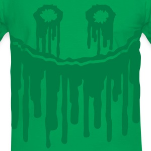 blood_face T-shirts - Mannen contrastshirt