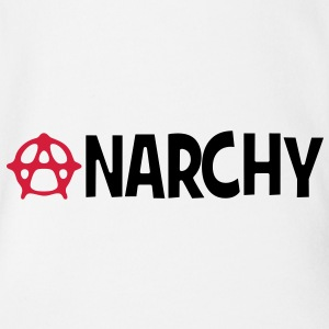 Anarchy T-Shirts - Baby Bio-Kurzarm-Body