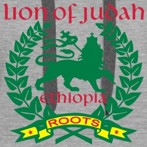 lion of judah ethiopia roots Pullover - Frauen Premium Hoodie